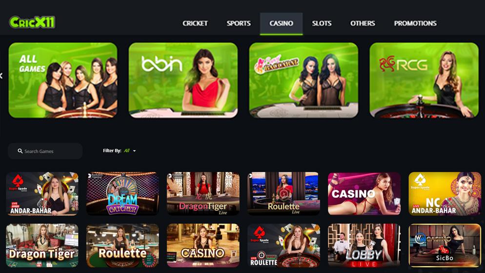 CricX11 Casino Review